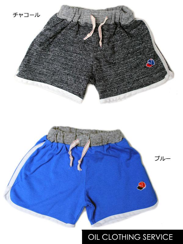 オイルクロージングサービス OIL CLOTHING SERVICE ワッペン付きジョギング パンツ ズボン 100cm 110cm 120cm 130cm 140505[50%] 子供服 キッズ ベビー ジュニア