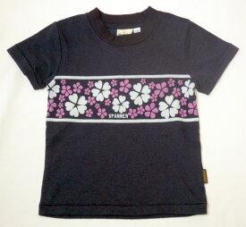 スパナー SPANNER フラワーラインTシャツ 80cm 90cm 100cm 110cm [50%] 子供服 キッズ ベビー ジュニア