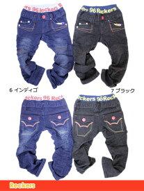 リブウエストステッチ パンツ ズボン S 100cm 22351[50%] 子供服 キッズ ベビー ジュニア レッカーズ Reckers