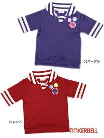 ティンカーベル 子供服 79% 女の子 衿付き 五分袖 半袖Tシャツ 100cm 110cm 120cm 2143 キッズ ベビー ジュニア