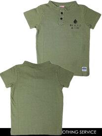 オイルクロージングサービス OIL CLOTHING SERVICE ヘンリーネックTシャツ M L LL 140231J[50%] 子供服 キッズ ジュニア 男の子 メンズ[コンビニ受取]