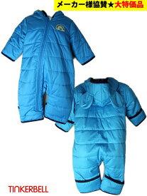 ティンカーベル 子供服 60% マイクロフリース ロンパース つなぎ ジャンプスーツ 80cm 1236[60%] キッズ ベビー ジュニア 冬 暖か