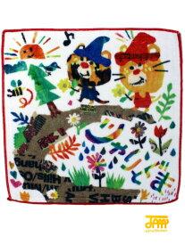 ノベルティ ジャム 子供服 JAM JAMのマルチタオル(F)2152901 単品購入不可 セール品OK ブランド不問 キッズ ベビー ジュニア じゃりぐま