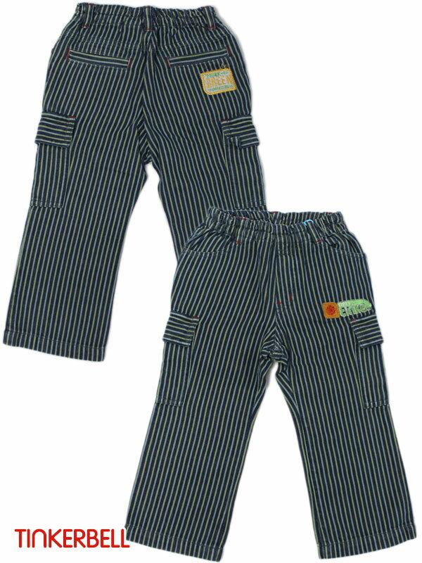 ティンカーベル 子供服 ワッペン付き総ゴム パンツ ズボン 90cm 95cm 171-5227 キッズ ベビー ジュニア