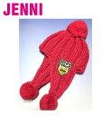 【メール便にて¥160 】【JENNI★ジェニイ】耳あて付きニット帽子