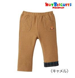 ●●【ミキハウス*MIKI HOUSE】ホットビ☆ストレッチニットデニムパンツ【80・90cm】