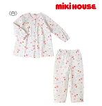 ●【MIKIHOUSE★ミキハウス】星に願いをリーナちゃん前開き長袖パジャマ【80・90・100・110・120・130cm】