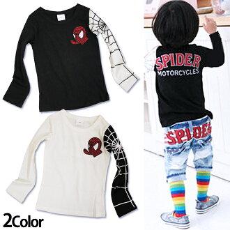 In 1000 yen uniform Korea kids clothes SLASYS (slasys) Spider-man AMAZING t-shirt 4200 yen (tax incl.) or more purchased (cash out) (SLASYS, kidsmio) 100 cm 110 cm 120 cm 130 cm-140 cm 150 cm-160 cm