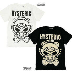Hystericmini ヒステリックミニ FORTUNE TEDDY MINI 半袖Tシャツ