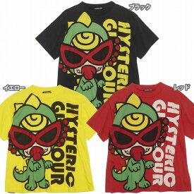 Hystericmini ヒステリックミニ MONSTER FLOWER GARDEN ミニラBIG半袖Tシャツ