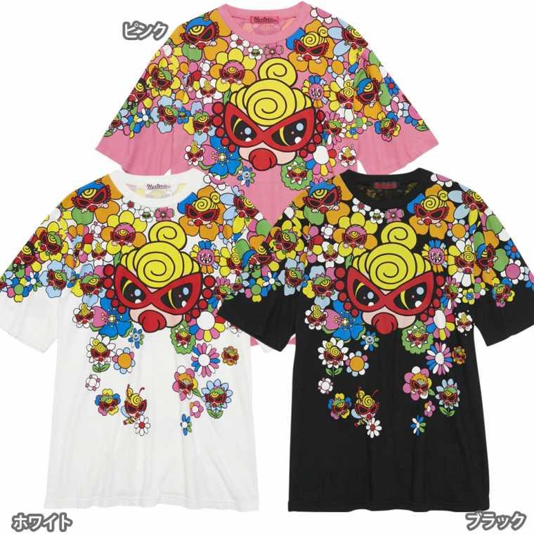 Hystericmini ヒステリックミニ SUPER POP FLOWER GARDEN コーマ天竺 BIG半袖Tシャツ