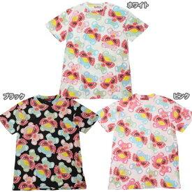 Hystericmini ヒステリックミニ TEDDYS DONUTS総柄 エンジェルコットBIGTシャツ