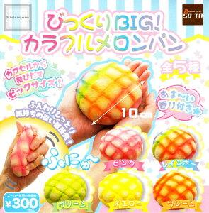 【コンプリート】びっくりBIG!カラフルメロンパン ★全5種セット