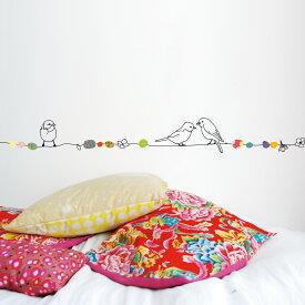 ウォールステッカー MIMI'lou【Peals & Birdsパールズアンドバーズ】子供部屋 こども ウォールステッカー 壁シール こども部屋 キッズ
