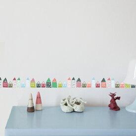 ウォールステッカー MIMI'lou【リトルハウス】子供部屋 こども ウォールステッカー 壁シール こども部屋 キッズ