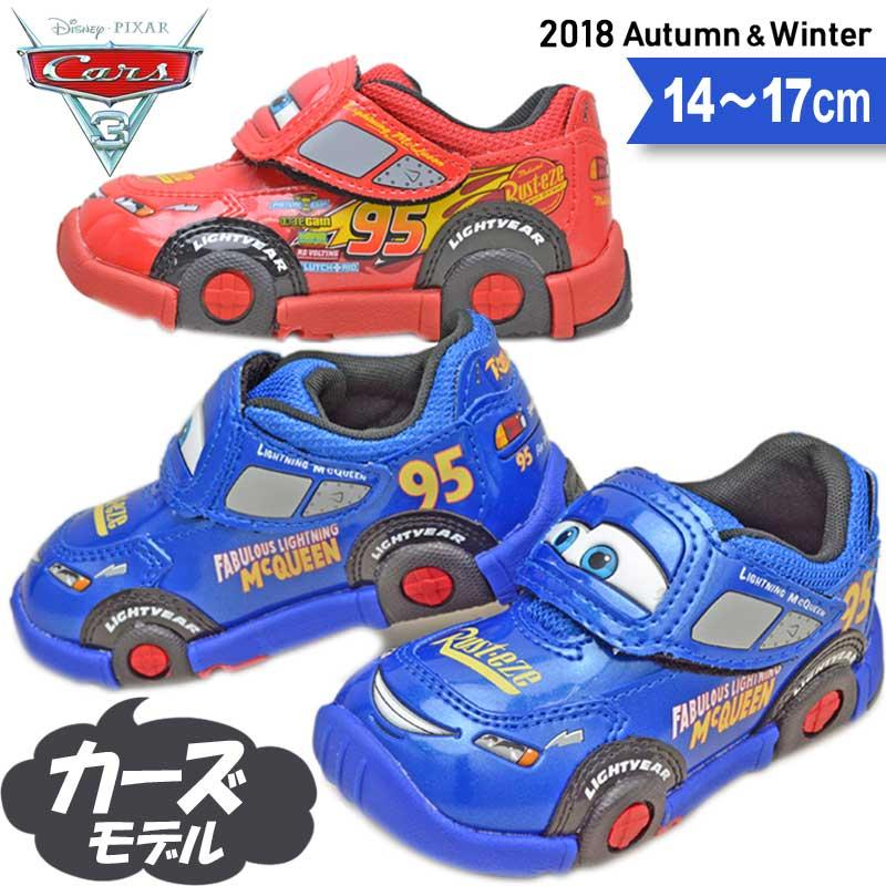 ディズニー カーズ 男の子 キッズ スニーカー 子供靴 ライトニング マックィーン DN C1200 14 15 16 17