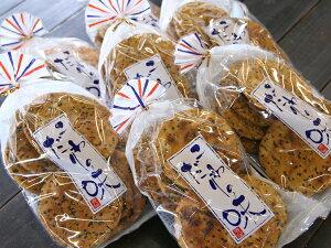【5,000円以上送料無料】煎餅に沢山のゴマを錬り込みました