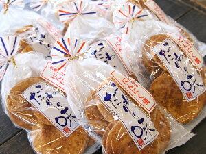 【5,000円以上送料無料】堅焼き煎餅に国産の生にんにく使用