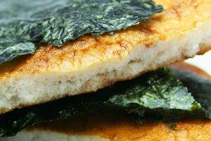 【5,000円以上送料無料】堅焼煎餅に江戸前海苔を巻きました