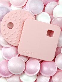UKI.BE ウキビー ティーサー 歯がため ピンク 歯固め ピンク イエロー ブラック グレー ホワイト ベビー雑貨 赤ちゃん お祝い ギフト ベビー キッズ 子供服