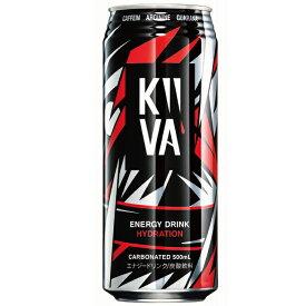 エナジードリンク キーバ 500ml × 24本 ( KiiVA )【 送料無料 】【 炭酸飲料 】