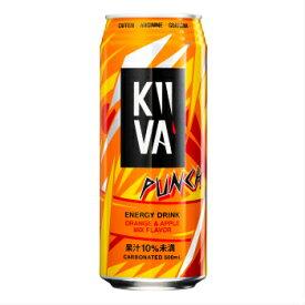 エナジードリンク キーバ PUNCH(NEW) 500ml × 24本 ( KiiVA )【 送料無料 】【 炭酸飲料 】