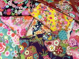 和調花柄きもの風の生地がいっぱい2mカットアソートセット30枚 【マラソン】 05P03Sep16
