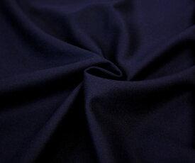 再入荷 上質上品 ウール100% フラノ(ツイル 綾織り) ダークネイビー 無地 両面起毛 やや厚手。とってもソフトであったかい風合い 日本製 w巾150cm 防縮加工 布 生地 布地 服地 通販 ウール生地 ウール 50cm以上10cm単位