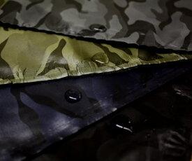 ポリエステル100% 撥水生地 迷彩 カモフラージュ ジャガード織り柄 全4色 巾139cm やや薄手 布 生地 布地 服地 通販 撥水加工 防汚加工 レイングッズ エコバッグにぴったり