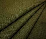 コットン綿100%8号帆布カーキ無地落ち着いた感じのハンプ・コットン生地日本製巾112cmバッグやリュックに布生地布地服地綿通販和調