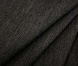 日本製ウール/ポリエステル混ギャバ(ギャバジン)杢グレー無地♪シルクのような光沢感。W巾150cm布生地布地服地通販ウール生地サマーウール春夏秋