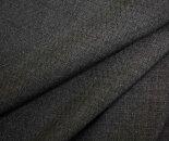 サマーウールグレー無地W巾150cm防縮加工ウール/ポリエステル混ドビー平織り生地布布地服地通販ウール生地