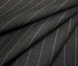 W巾150cm防縮加工ウール/ポリエステル混平織りストライプ生地布生地布地服地通販ウール生地
