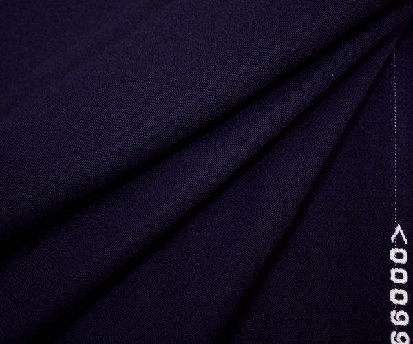 日本製高級ウール100% カシミヤ織り(織り方のみ/ツイル)ダークネイビー★W巾150cm 布 生地 布地 服地 通販 ウール 50cm以上10cm単位カット ウール生地 毛 濃紺 無地