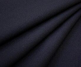 再入荷!日本製高級ウール100% サージ・ダークネイビー 無地・綾織り(ツイル) w巾150cm 防縮加工 布 生地 布地 服地 通販 ウール生地 50cm以上10cm単位カット