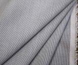 TC先染めオフホワイト&グレーコードレーン平織り生地コットンポリエステル日本製布布地服地コットン生地綿シャツ地通販50cm以上10cm単位ヘアラインストライプ