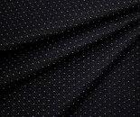 ウール混ドビーニット(丸編み)ブラック地ヨコ伸びストレッチW幅160cm中厚程度の日本製ニット生地布布地服地通販黒ジャージー
