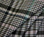 タータンチェックツイルポリエステルレーヨンストレッチ(ヨコ伸び)中厚程度巾134cm布生地布地服地通販チェックチェック柄