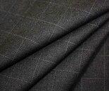 日本製上質ウール/ポリエステル混ツイル/綾織りグラフチェックW巾150cm防縮加工布生地布地服地通販ウール生地チェック柄チェック10cm単位毛