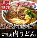 とっておきのご褒美肉うどん【5食入】【送料無料】【17C01】