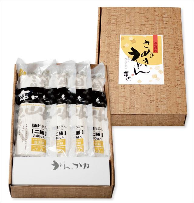 【化粧箱ギフト】 讃岐うどんのギフトセット14食入 【楽ギフ_包装】【W-807】
