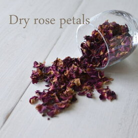Dry rose petal /ドライハーブローズ ペタル・薔薇の花びら