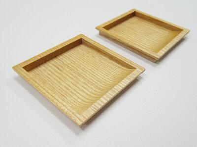 取っ手引手木製襖引手四角60mmボンドタイプ2個入H-20シンプルナチュラル和洋室