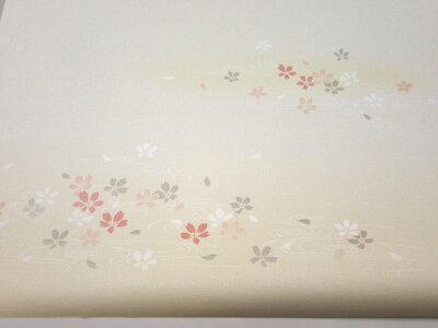 ふすま紙アイロンで貼るタイプ『爛漫』春を感じさせる桜散らし柄(95cm×185cm/2枚入)襖紙モダンおしゃれAT-503