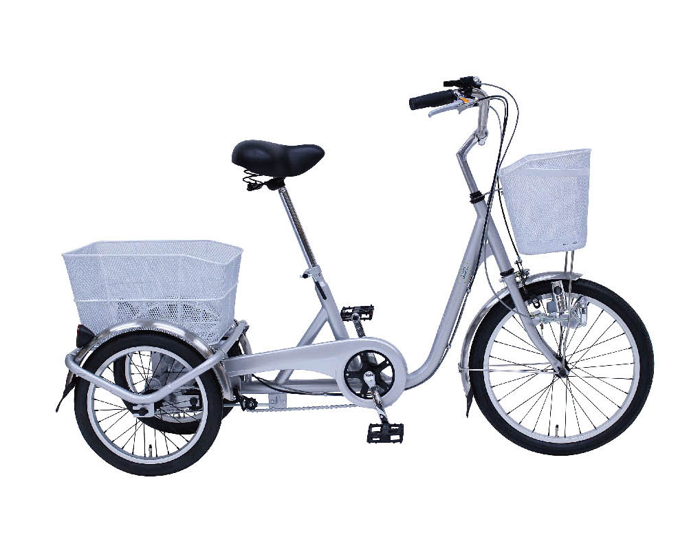 SWING CHARLIE 三輪自転車E 20インチ シルバー ミムゴ 365 大人用三輪車 荷台 人気 おすすめ おしゃれ