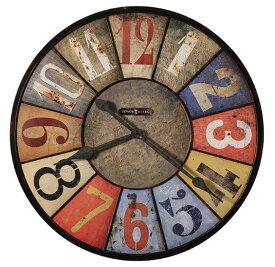 HOWARD MILLER ハワードミラー(アメリカ) Wall Clock 大型壁掛け時計 625-547 County Line アンティーク調 輸入時計 アナログ [ 御祝 御祝い お祝い 記念品 新築祝い 熨斗 ]【クリスマス】