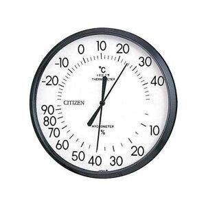 シチズン アナログ式温湿度計 TM42-1 9CZ013-003 温度計 湿度計 (コ)