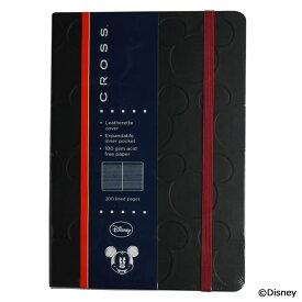 クロス ノートブック ディズニー ミッキー&ミニー メインストリームコレクション ブラック(ミッキー) AC272-1M ブラック CROSS 高級筆記具 ブランド 筆記用具 海外メーカー [成人式 就職祝い 母の日 ホワイトデー クリスマス] (コ)