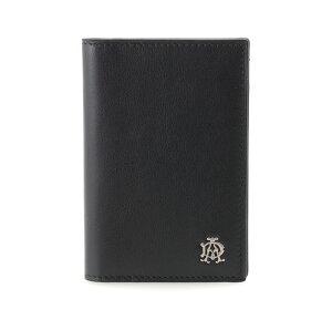 あす楽対応 ダンヒル カードケース メンズ ブラック REEVES L2XR47A 定期入れ パスケース 黒 男性用 紳士 dunhill 高級 人気 ブランド おしゃれ おすすめ [贈り物 就職祝い 昇進祝い 父の日 敬老の日