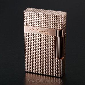 あす楽対応 送料無料 ST デュポン ライター ライン2 16424 ダイヤモンドヘッドカット ピンクゴールドフィニッシュ 国内正規品 Ligne 2 S.T.Dupont 高級 人気 ブランド おしゃれ おすすめ [贈り物 就